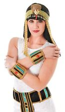 Fancy Dress Deluxe EGYPTIAN WRISTBANDS Ladies Cleopatra Costume Accessory