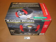 GT2 Racing Wheel for PlayStation PS (Pelican) with Gran Turismo 1,2 & 3 Games!