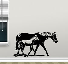 Horse Wall Decal Pony Vinyl Sticker Baby Poster Home Nursery Decor Mural 141nnn