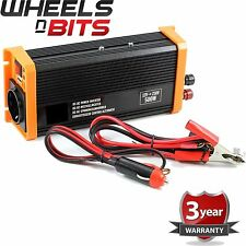 24 Volt Power Inverter DC AC & USB output 24V 230V 500W Continuous 1000 W Peak