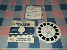 ksm.  View-Master XM-1 The Christmas Story Part 1 Mary Joseph Booklet & Reel