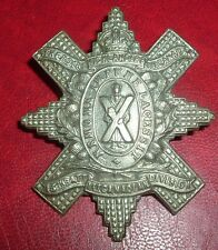 CAP BADGES-WW1 CANADIAN 13th BTTN ROYAL HIGHLANDERS OF CANADA WM CHARLTON 13-6