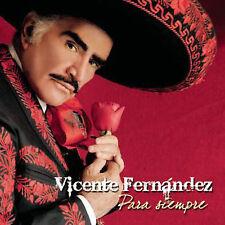 Para Siempre by Vicente Fernndez (Latin) (CD, Sep-2007, Sony Music...