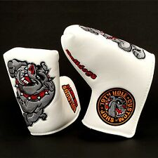Bulldog Putter Headcover for Scotty Cameron Fastback, Squareback, GoLo, My Girl