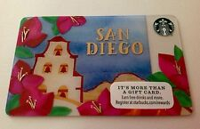 BRAND NEW SAN DIEGO 2016 Starbucks Gift Cards / Limited Edition