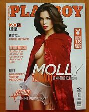 NEW Playboy Magazine Venezuela June 2016 Molly Delgado.