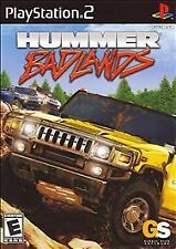 PLAYSTATION 2 HUMMER BADLANDS BRAND NEW RACING  GAME