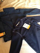 Boys Regatta Outdoor Jacket And Fleece together Navy Age 7 to 8