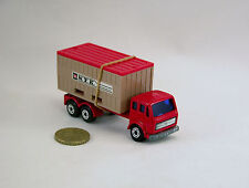 Matchbox Lesney Superfast # 42 camion Mercedes - container truck  (ep3a)
