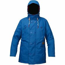 ANALOG Men's COMMODORE Snow Jacket - True Blue - Large - NWT - Reg $500