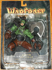 WORLD OF WARCRAFT SERIES II GROM HELLSCREAM FIGURE MOC OGRE CLAN CHIEFTAN WOW