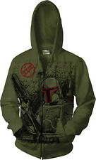 CELEBRATION VII Boba Fett HOODIE Size X-LARGE STAR WARS EXCLUSIVE