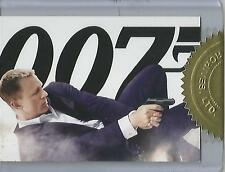 """James Bond 50th Anniversary S2 - CT1 """"Skyfall Poster"""" Case Topper Card #616/777"""