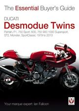 Ducati Desmodue Twins essential buyers guide 1979 to 2013 book paper