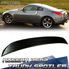 """SHIP FROM LA"" 2008 Unpainted For Nissan 350Z Z33 OE Style Trunk Spoiler ABS"