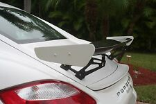 Porsche Cayman Boxster GT4 style spoiler wing WITH EXACT GT4 STYLE WINGLETS