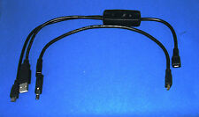 Juego de Cables para Raspberry Pi 2 * Pi 3 no Pi1 Atrix Lapdock Con Interruptor On/Off