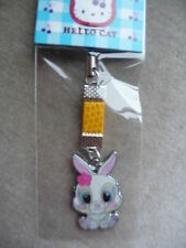 RABBIT MOBILE PHONE/PURSE CHARM BRAND NEW