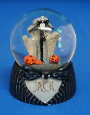 Nightmare Before Christmas Jack Skellington Snowglobe Figurine Halloween 25203