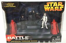 Star Wars IMPERIAL THRONE ROOM Battle Pack GIFT SET~ Hasbro 2005~ b