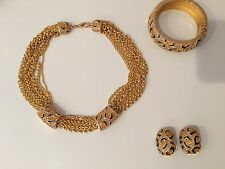 CHRISTIAN DIOR Vintage Jewelry Set
