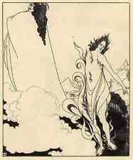 Aubrey Beardsley Rheingold A4 Print