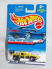 Hot Wheels 2000 First Editions #31 Roll Cage Yellow w/ ORSBs