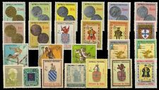 GOA, Portuguese India-24 Different Mint Thematic Stamps-MNH-Pre 1960 Period
