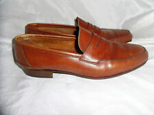 BALLY MEN BROWN LEATHER SLIP ON LOAFER SHOE  SIZE UK 7 EU 41  VGC