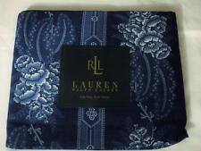 Ralph Lauren Biaritz Floral Blue Full Flat Sheet New
