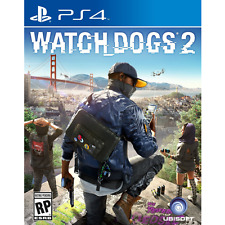 WATCH DOGS WATCHDOGS 2 PS4 [PRE OWNED] GREAT CONDITION