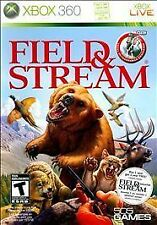 XBOX 360 FIELD & STREAM NEW HUNTING AND FISHING GAME