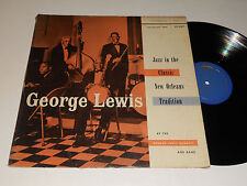 GEORGE LEWIS QUARTET & Band Jazz in Classic New Orleans 12-207 Riverside