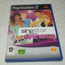 Sony Playstation 2 Game SingStar Anthems - Solus (PS2)