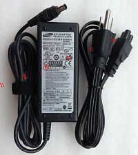 Original AC Adapter Charger For Samsung NP-R580-JSB1US R580-JSB1