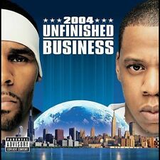 Unfinished Business Jay-Z & R. Kelly MUSIC CD