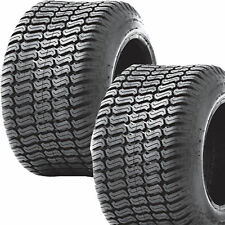2) 13x6.50-6 13/6.50-6 Riding Lawn Mower Garden Tractor Turf TIRES P332 4ply