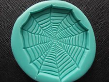 Silicone Mould HALLOWEEN SPIDERWEB   Cake Decorating Fondant / fimo mold