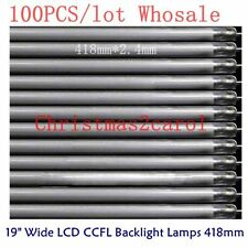 """100PCS CCFL Backlight Lamps 418 X 2.4mm For 19""""Wide PC LCD Monitor Wholesale NEW"""