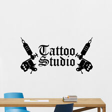 Tattoo Studio Wall Decal Machine Salon Poster Vinyl Sticker Decor Mural 77bar
