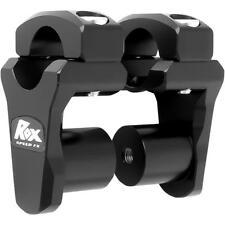 Rox Speed FX ROX HANDLEBAR PIVOTING RISER BLACK1-3/4 X1-1/8 X1-1/8 3R-P2PPLK