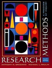 Research Methods : A Process of Inquiry by Michael L. Raulin and Anthony M. Gra…