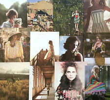 2010 Anthropologie Catalog Lot, Complete Set of 12 Fashion Catalogs ONE SET ONLY