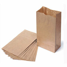 10pcs Small Kraft Paper Gift Candy Bag Vintage Wedding Treat Brown Paper Bag HU