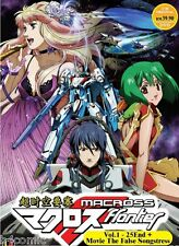 DVD Anime Macross Frontier (TV 1 - 25 End) DVD + 2 Movies