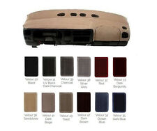 Buick VELOUR Dash Cover Custom Fit - Available for Most Models Many Colors V1BK