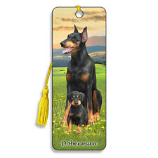 Doberman 3D Lenticular Bookmark