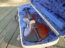 LEBRUN FULL BACK  VIOLIN W CASE NICE CONDITION NEEDS A STRING INTERNATIONAL SALE