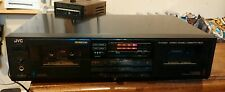 JVC Double Dual Cassette Deck Player Model TD-W330
