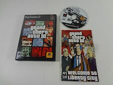 Grand Theft Auto III 3 Sony PlayStation 2 PS2 WITH MANUAL NO MAP